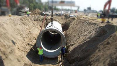 montajul tuburilor boma prefabricate