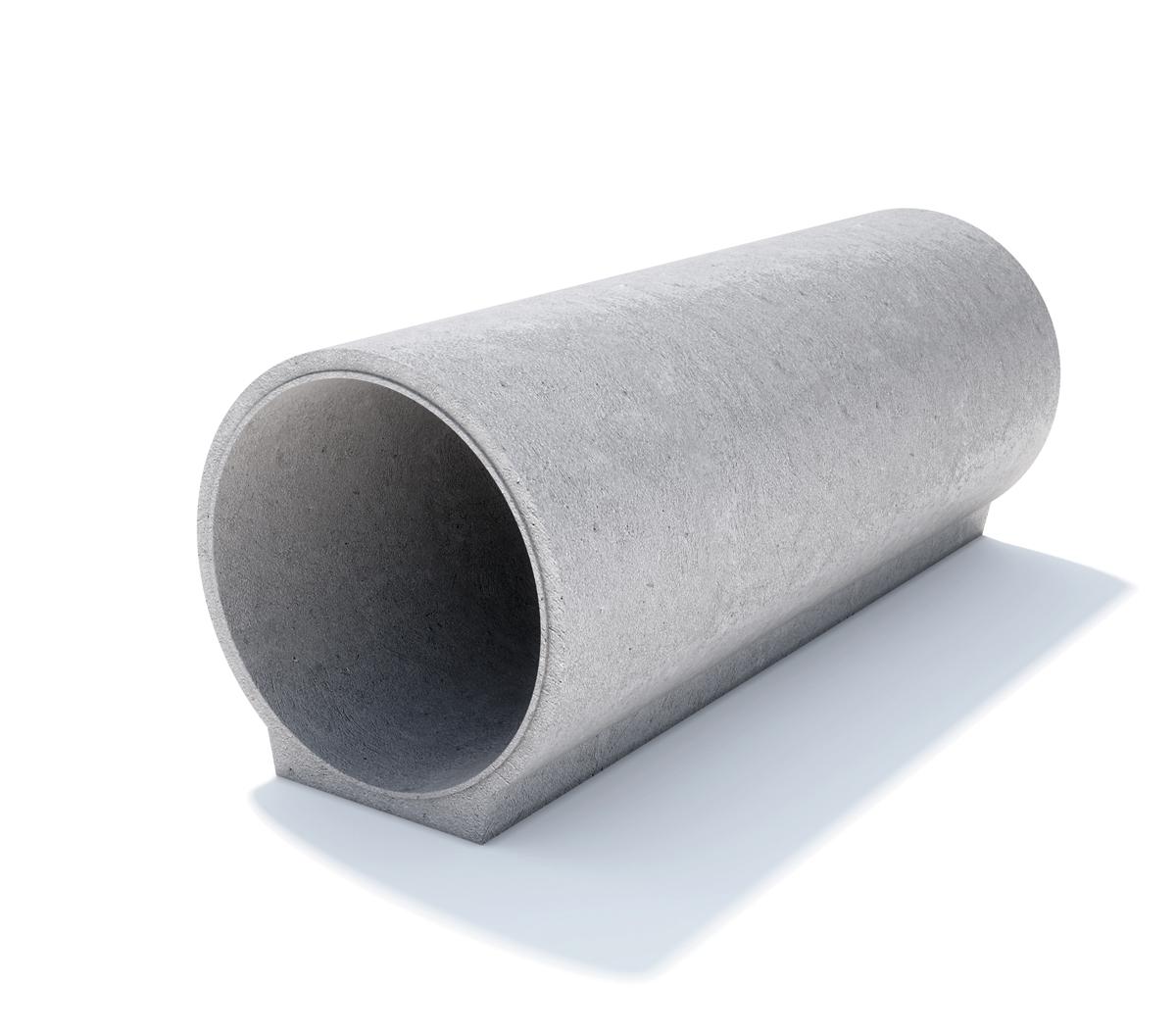 tuburi cu talpa cu cep si buza din beton simplu