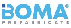 Prefabricate beton – BOMA Prefabricate Logo