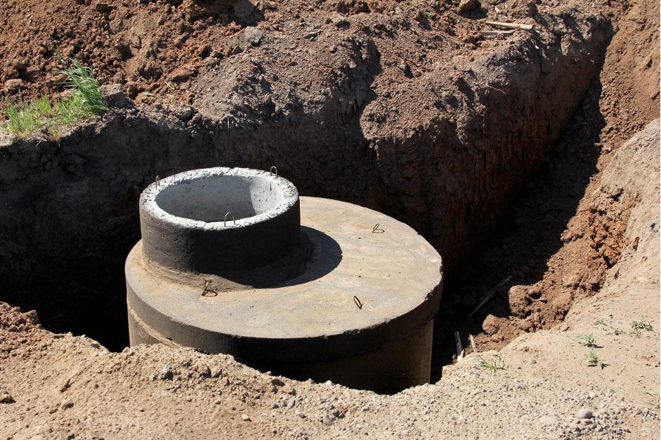 fosa septica din tuburi de beton